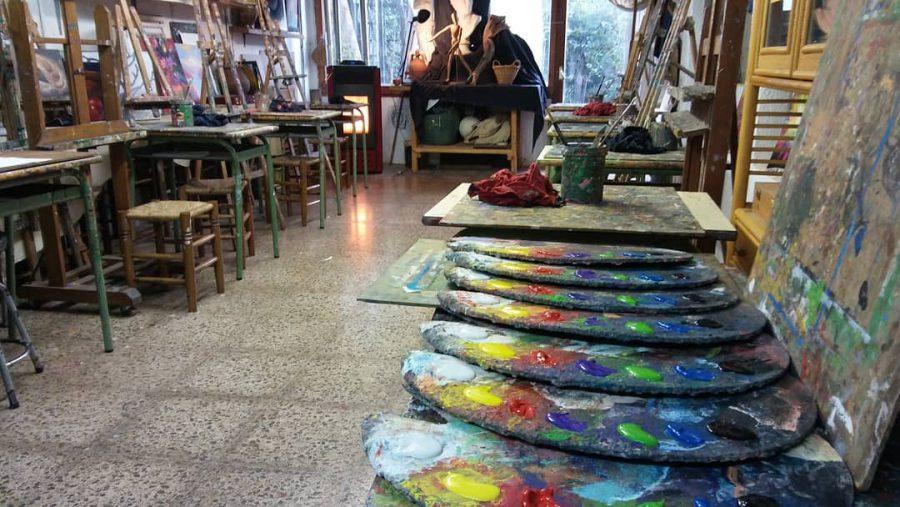 taller de arte de Juan Varea